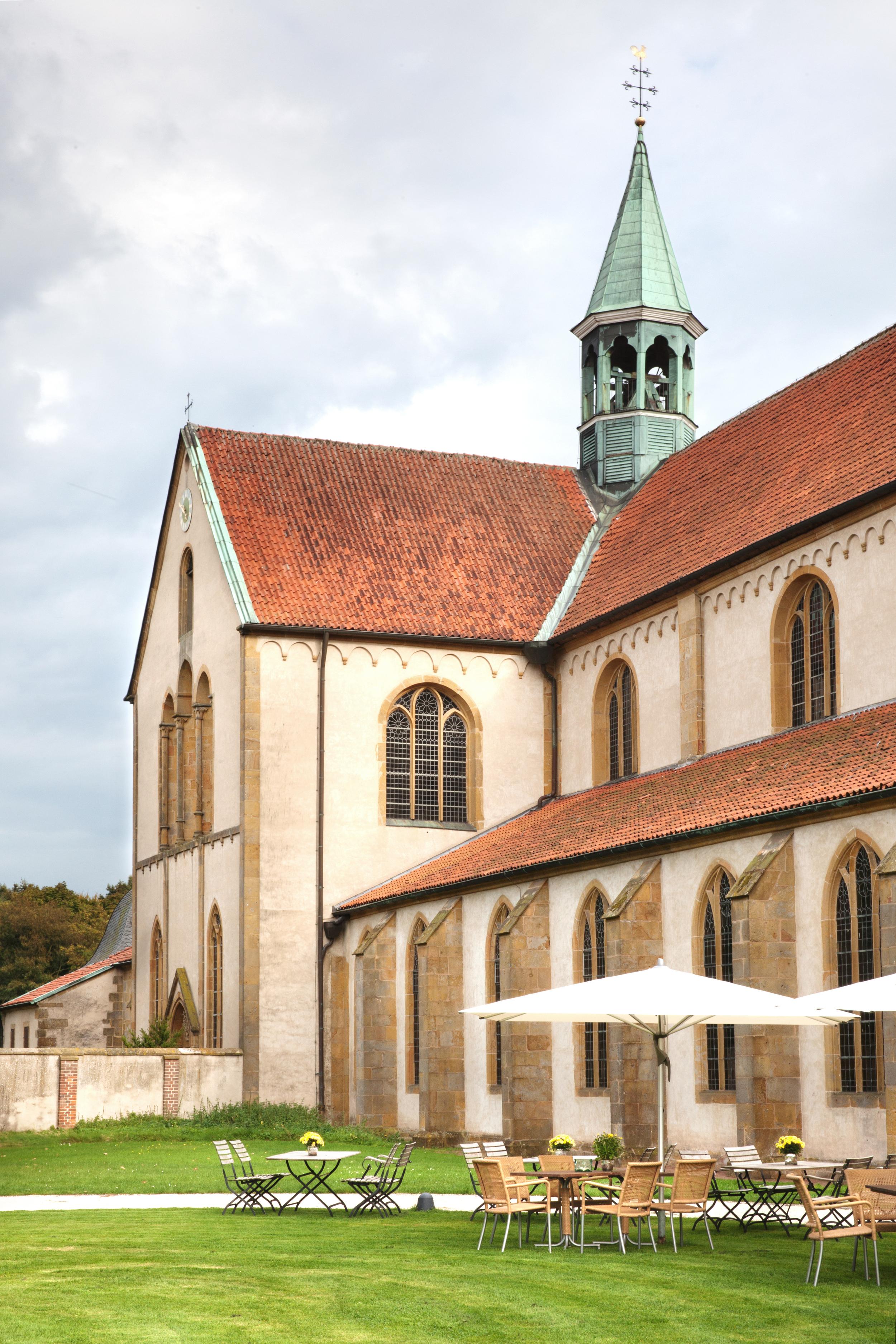 Außenansicht Kloster Marienfeld
