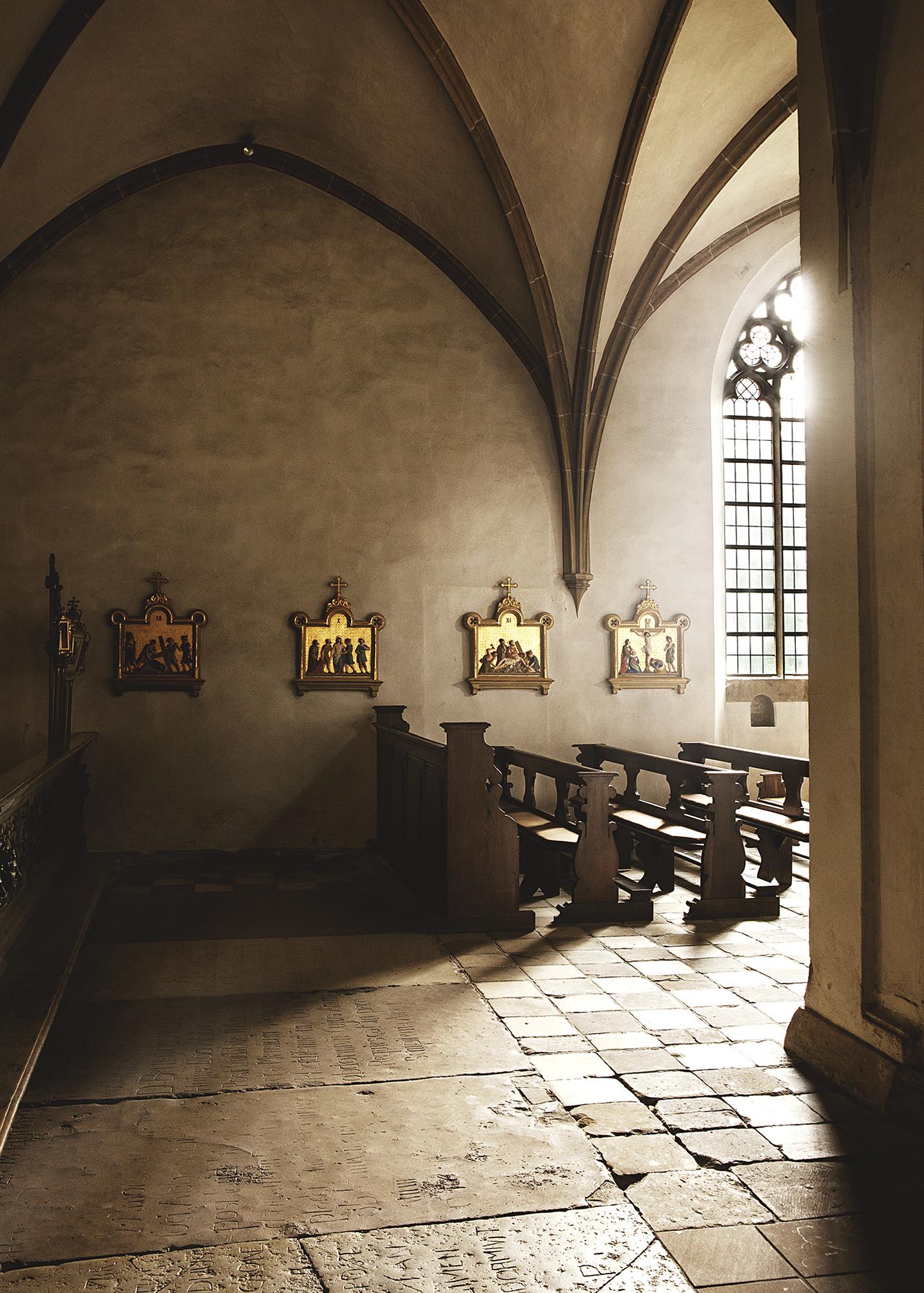 Innenansicht Kloster Marienfeld