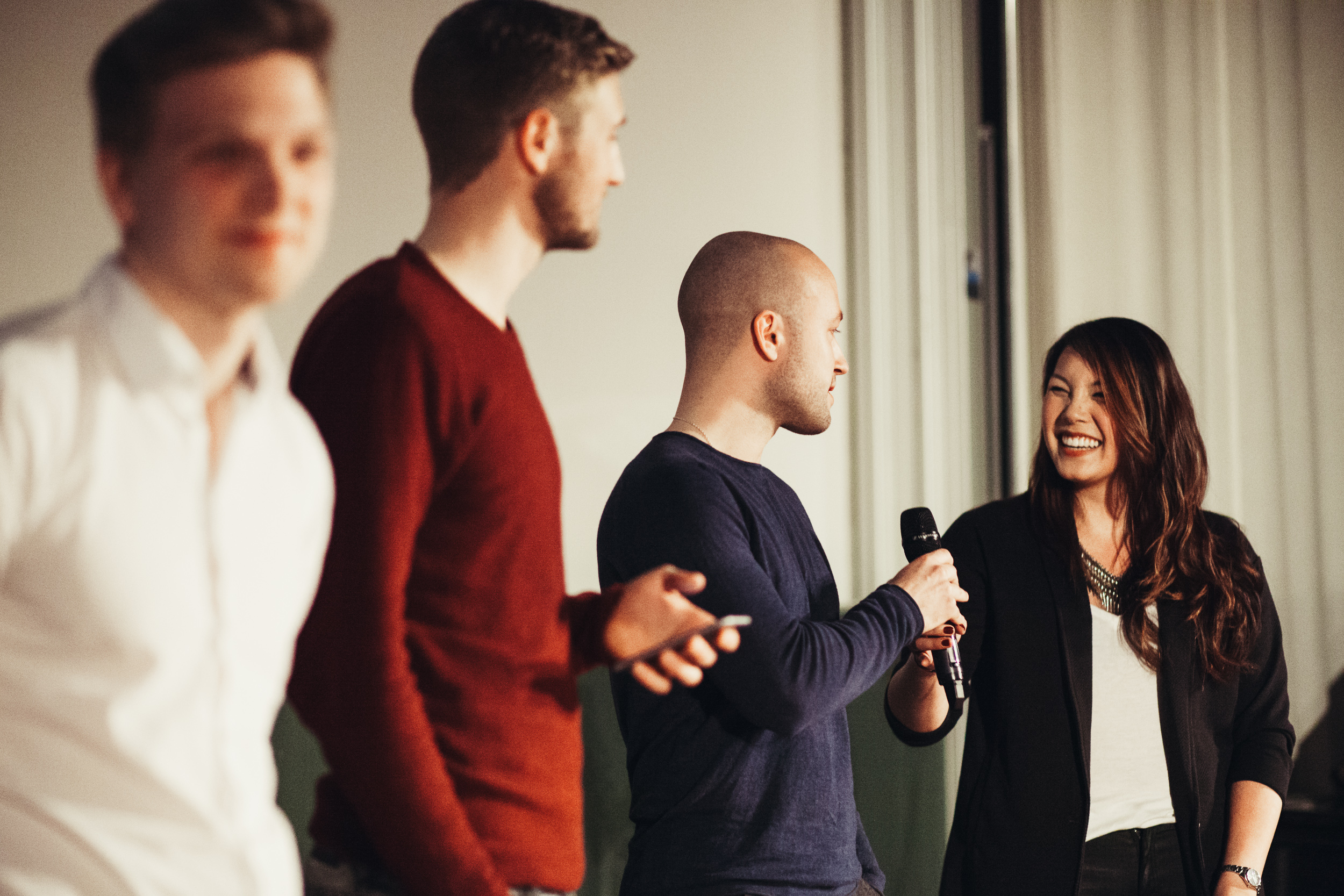 """Auftritt TeamMosaik im Rahmen des Mediapractice 2016 & Klub Dialog Features """"Durchstarten."""""""