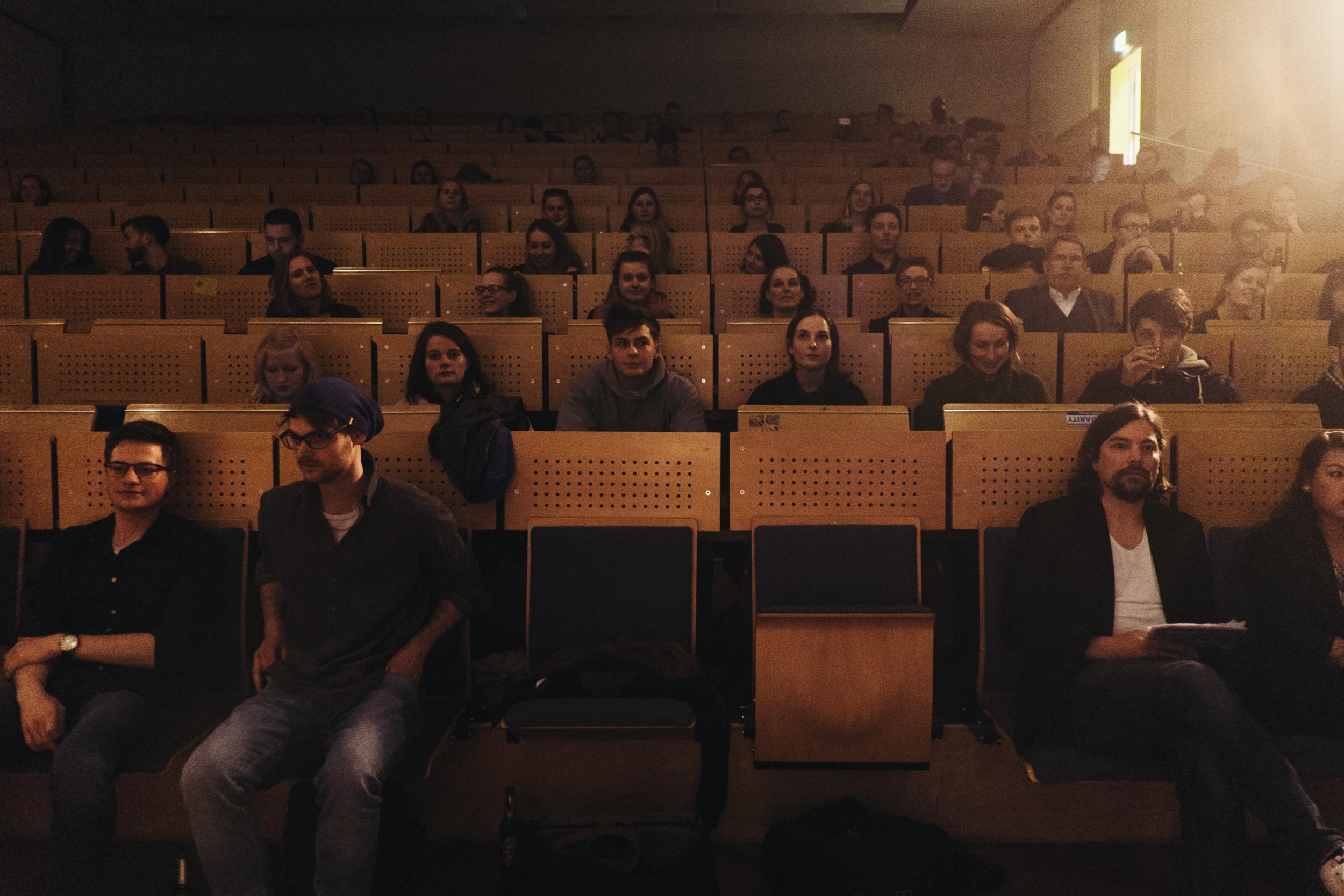Publikum Durchstarten.