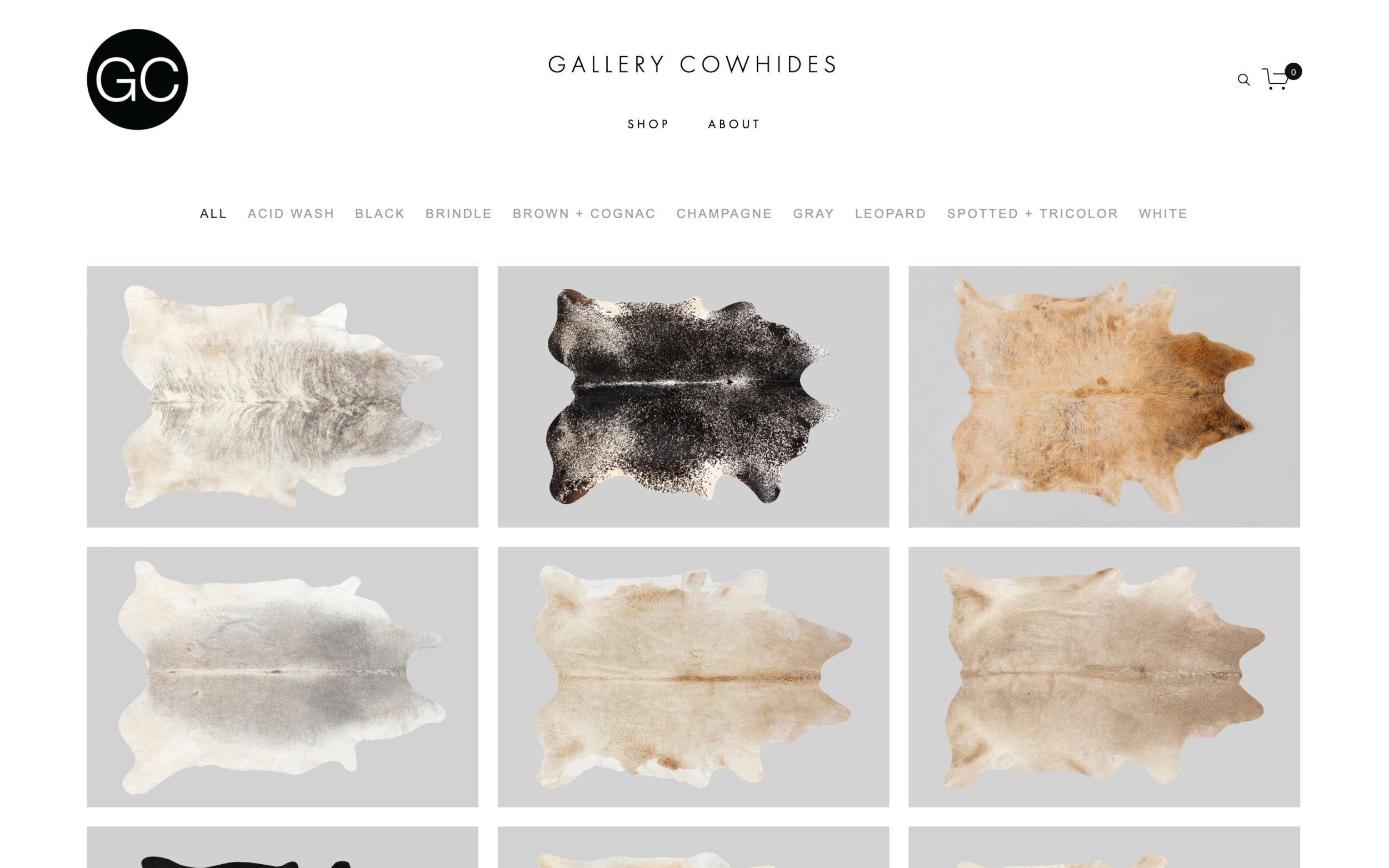 Gallery Cowhides - Chicago, IL
