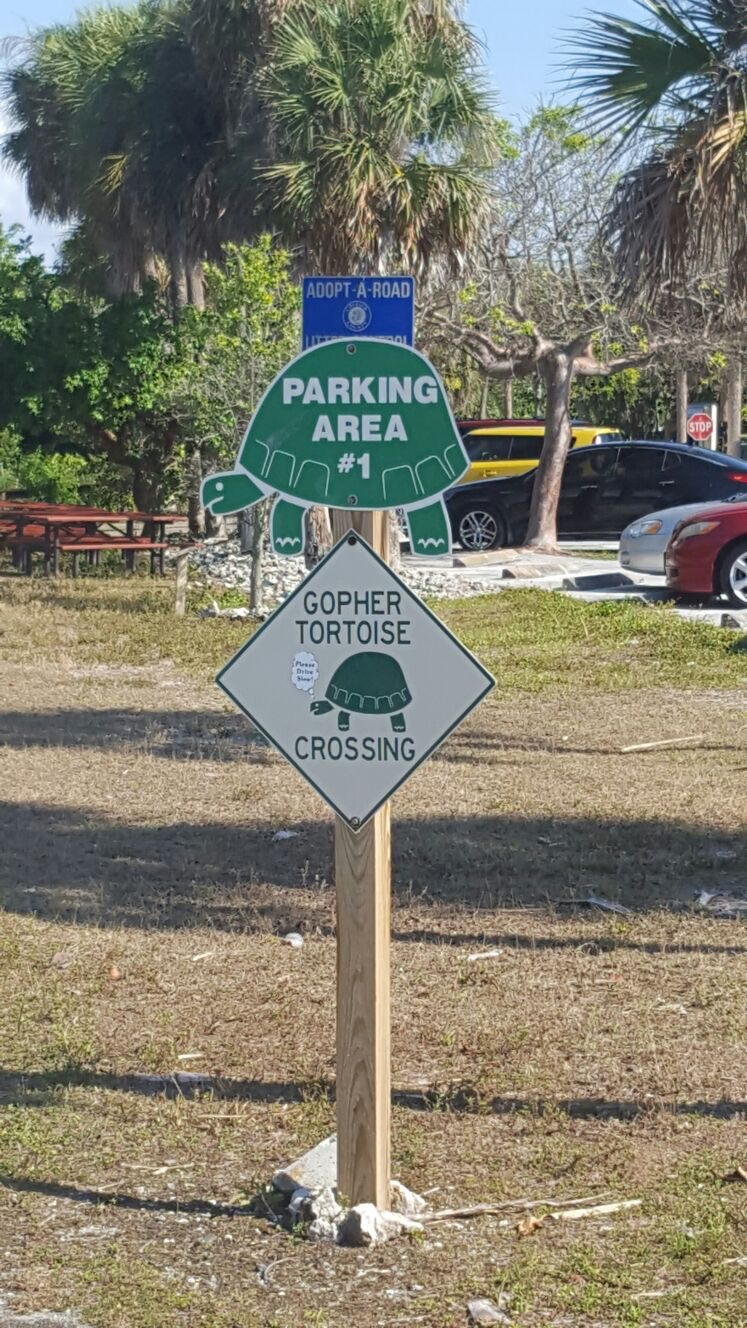 Environmental protection is a big think in Florida.