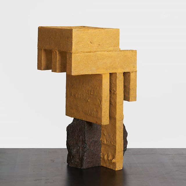 Human Element - Excavation N4 - Granite and Gypsum Cement - 2018 . . Photo by @sebastianwolf.photo . . . #sculpture #contemporarysculpture #contemporarydesign #design #interiordesign #interiordecoration #art #contemporaryart #architecture #artdesign #granite #cement
