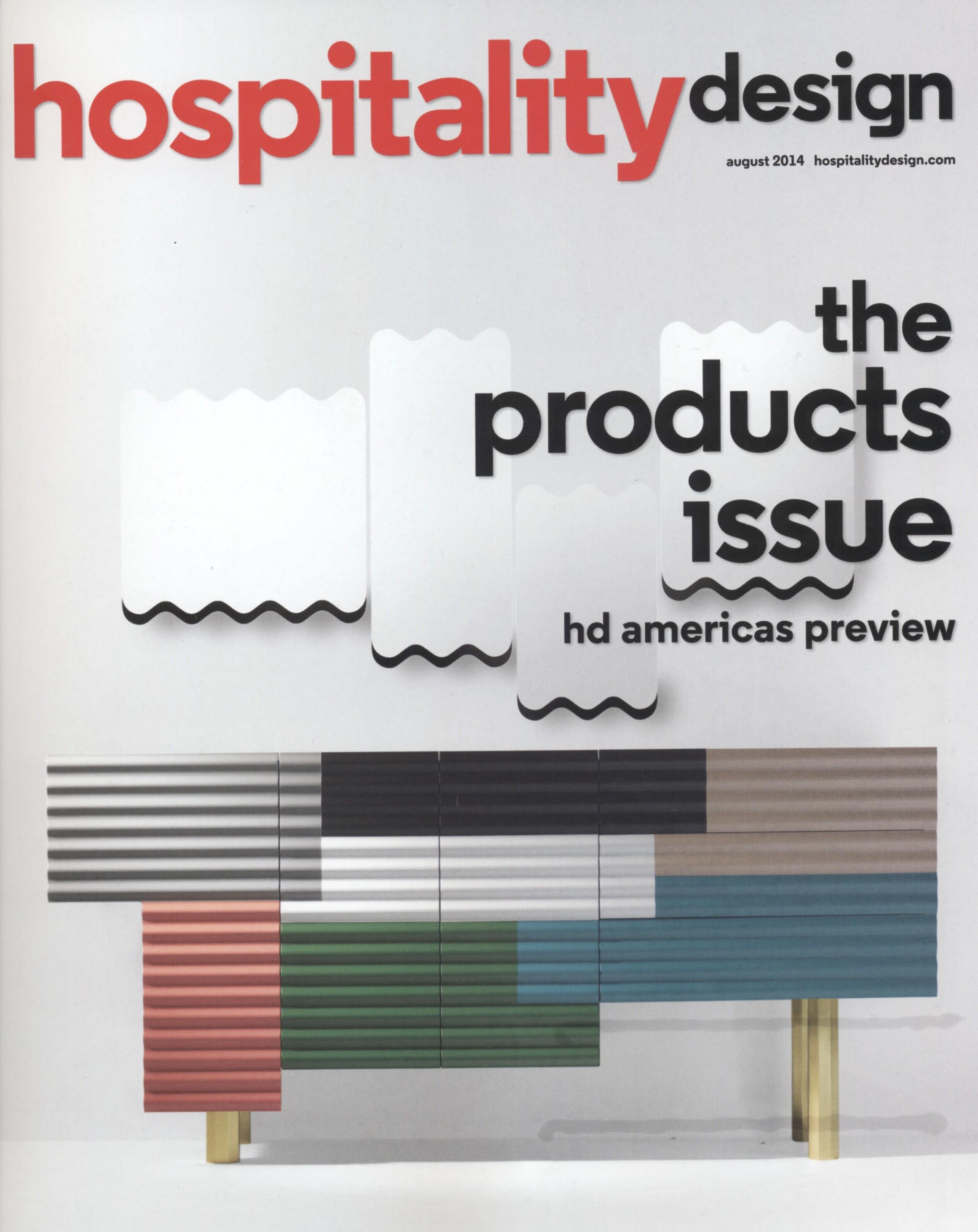 HOSPITALITY DESIGN AUGUST 2014
