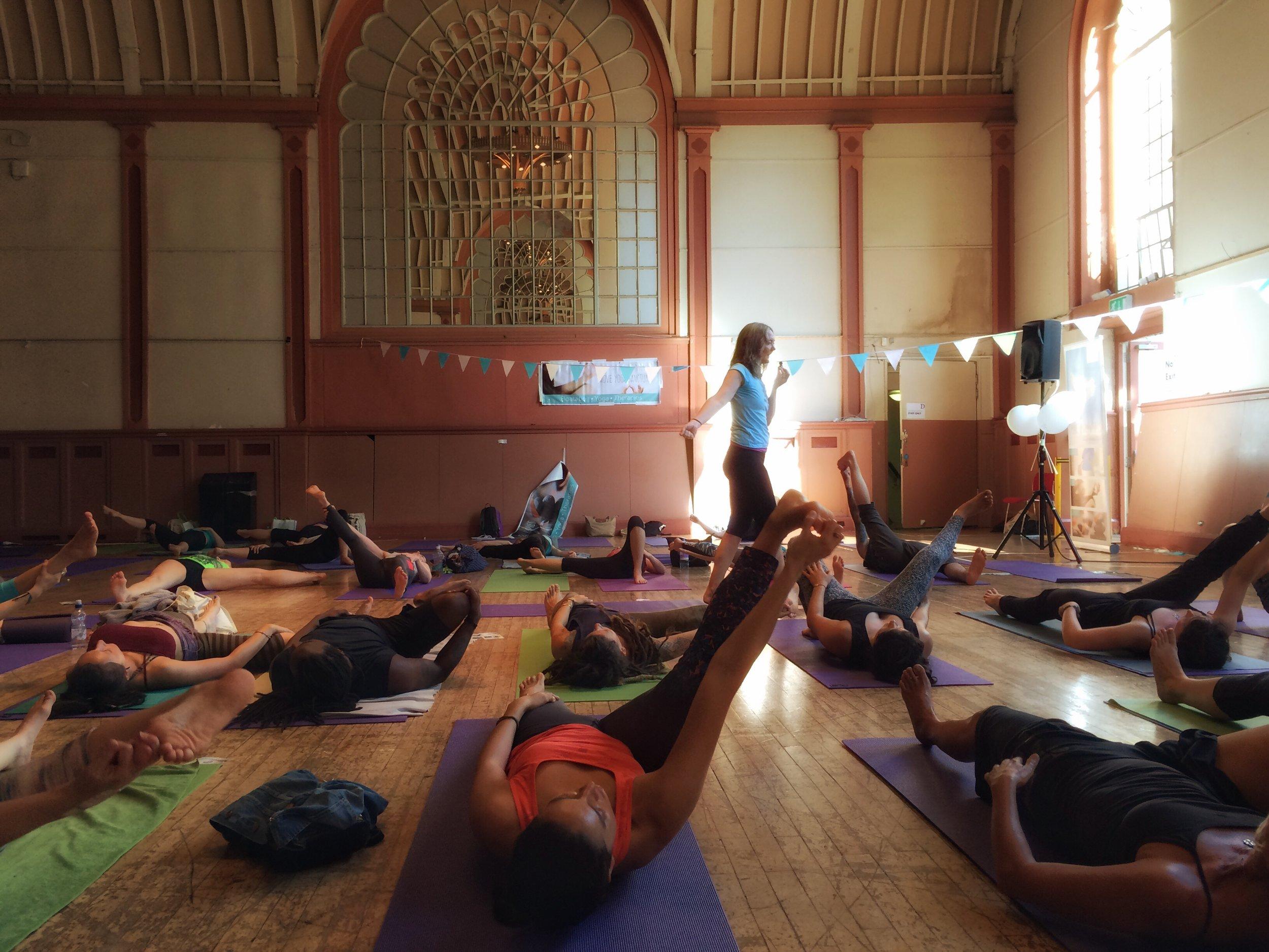 Led Primary at Brighton Yoga Festival 2016