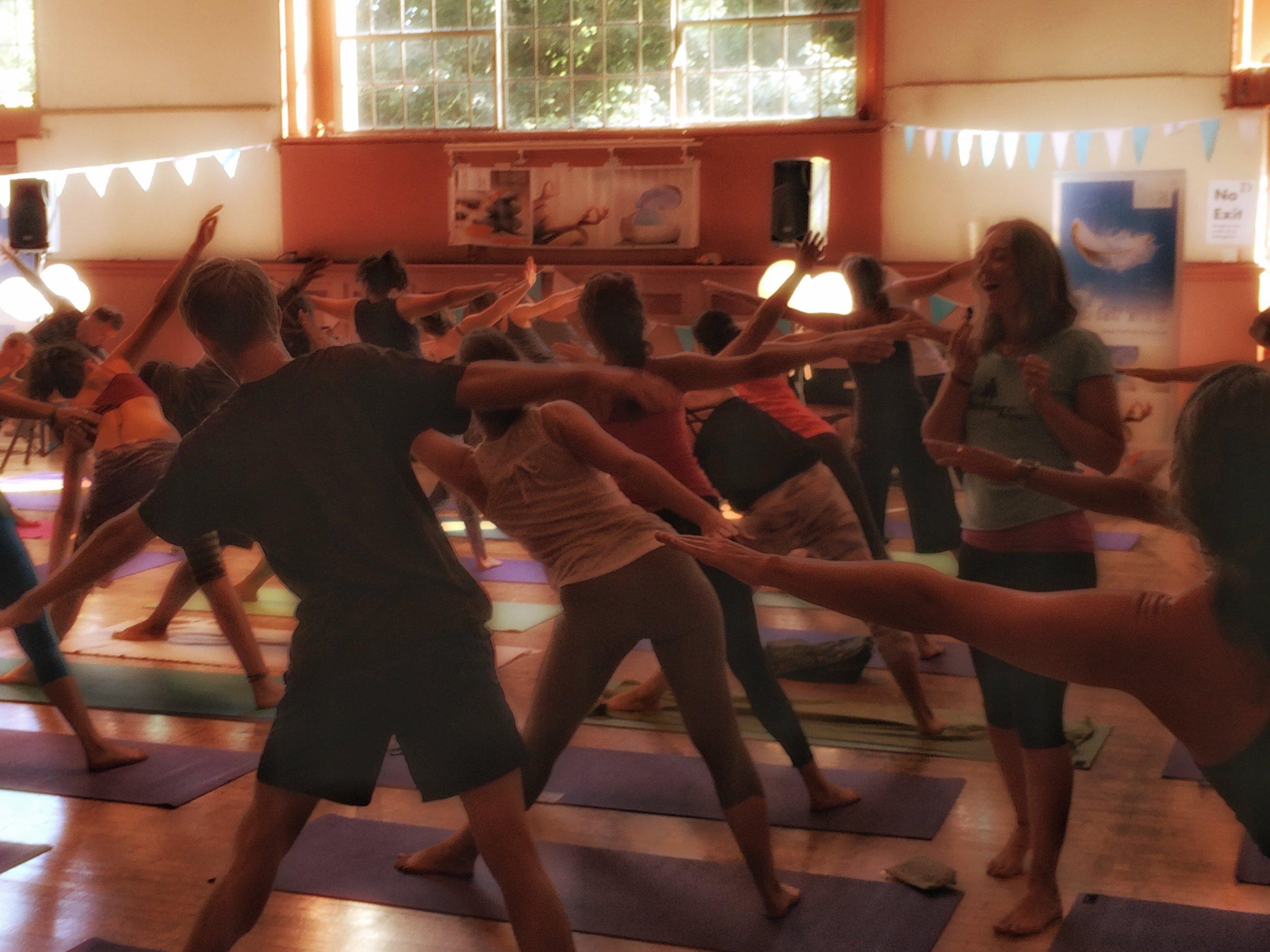 Led Primary Brighton Yoga Festival 2016