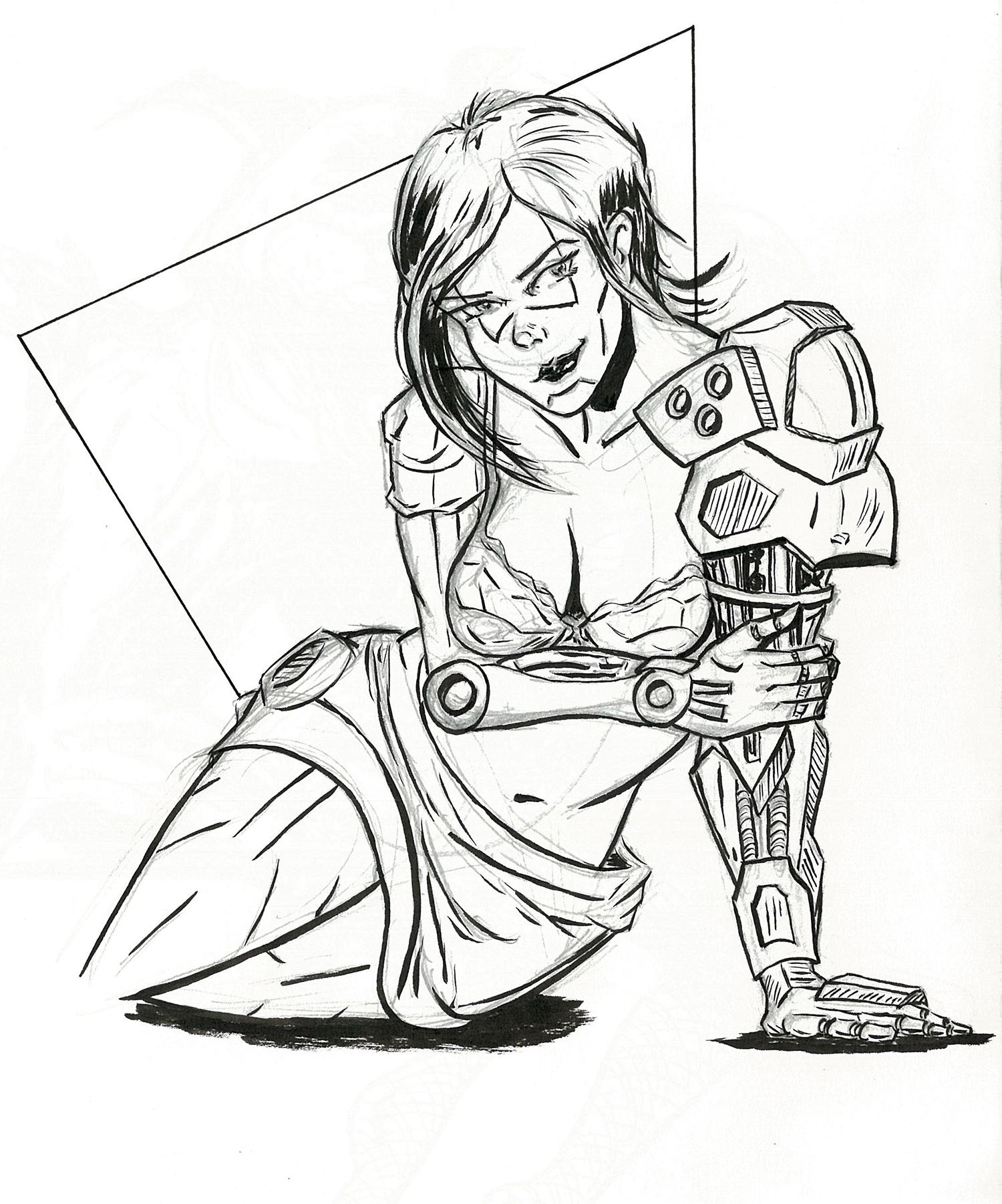 Mech Girl - Concept Mk.I