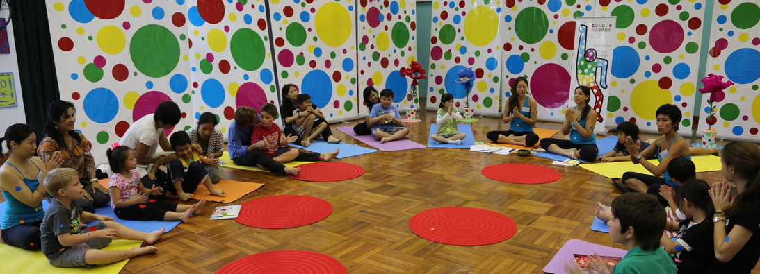 Kidding Around Yoga is a complete system of Yoga that incorporates asana, the science of yoga and lots of kidding around in a perfect package for little bodies. Come join the fun!