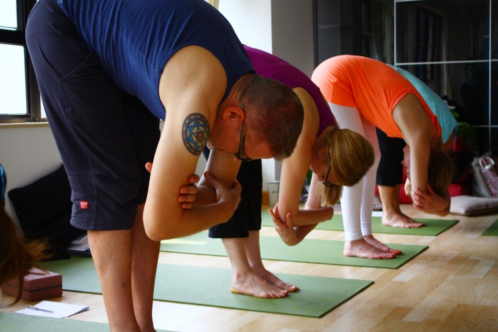 Join our Sangha - Be a part of a loving yoga community who love to study and practice together.