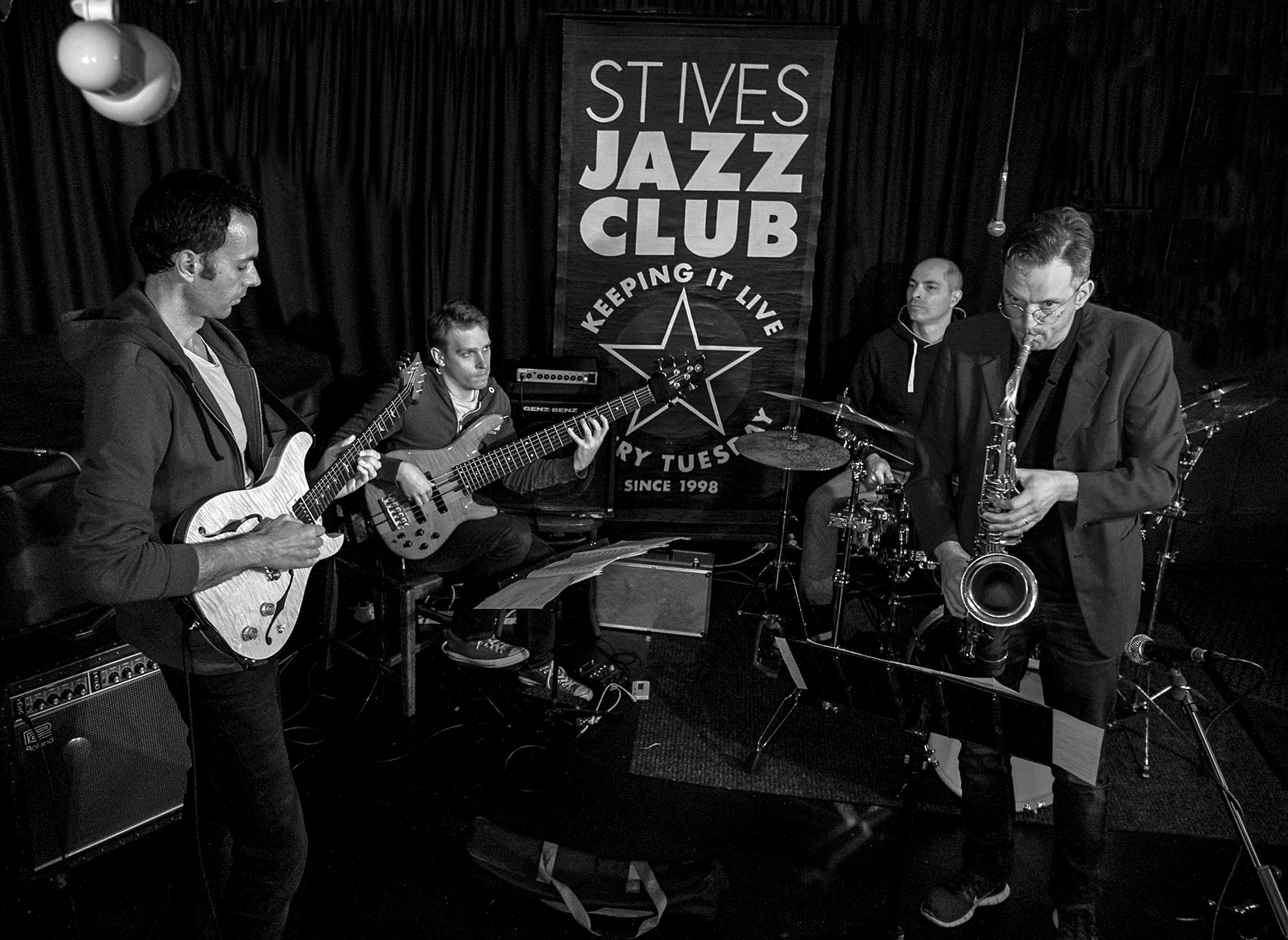 Photo by Tony Brown @ St.Ives Jazz Club