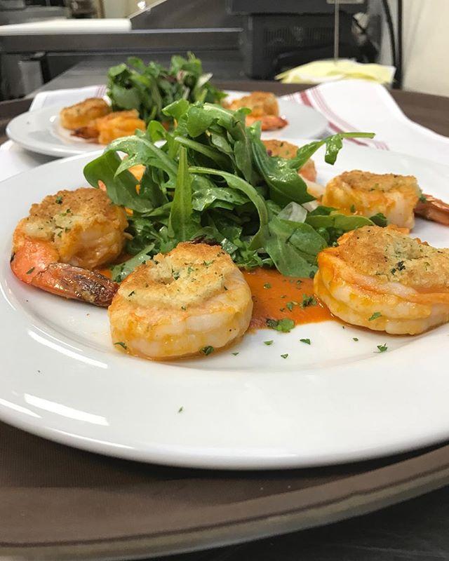 Sicilian Shrimp Scampi