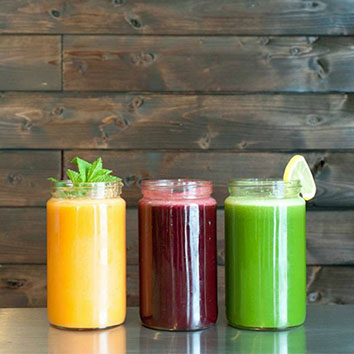 Juice Bay will be offering 3 different smoothies and juices to keep you hydrated and refreshed.