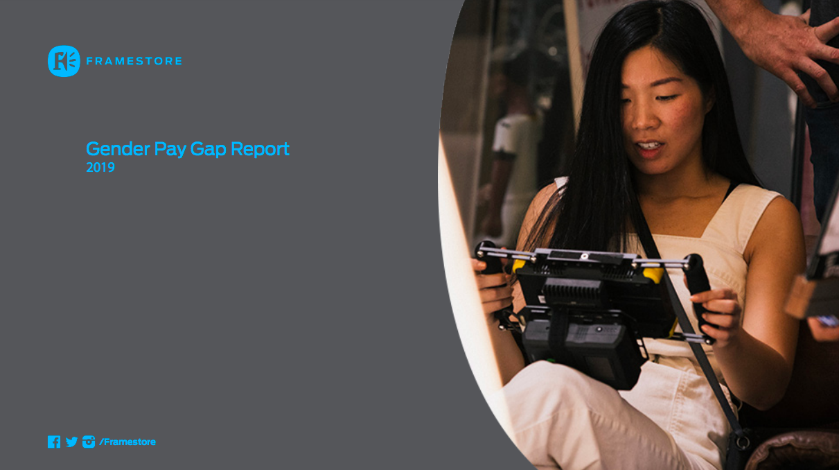 FRAMESTORE GENDER PAY GAP REPORT - 'We have developed a partnership with Eric Festival to promote a series of female only workshop events over the summer months.'