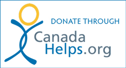 Click on the logo to donate. You will receive a confirmation email from Canada Helps.