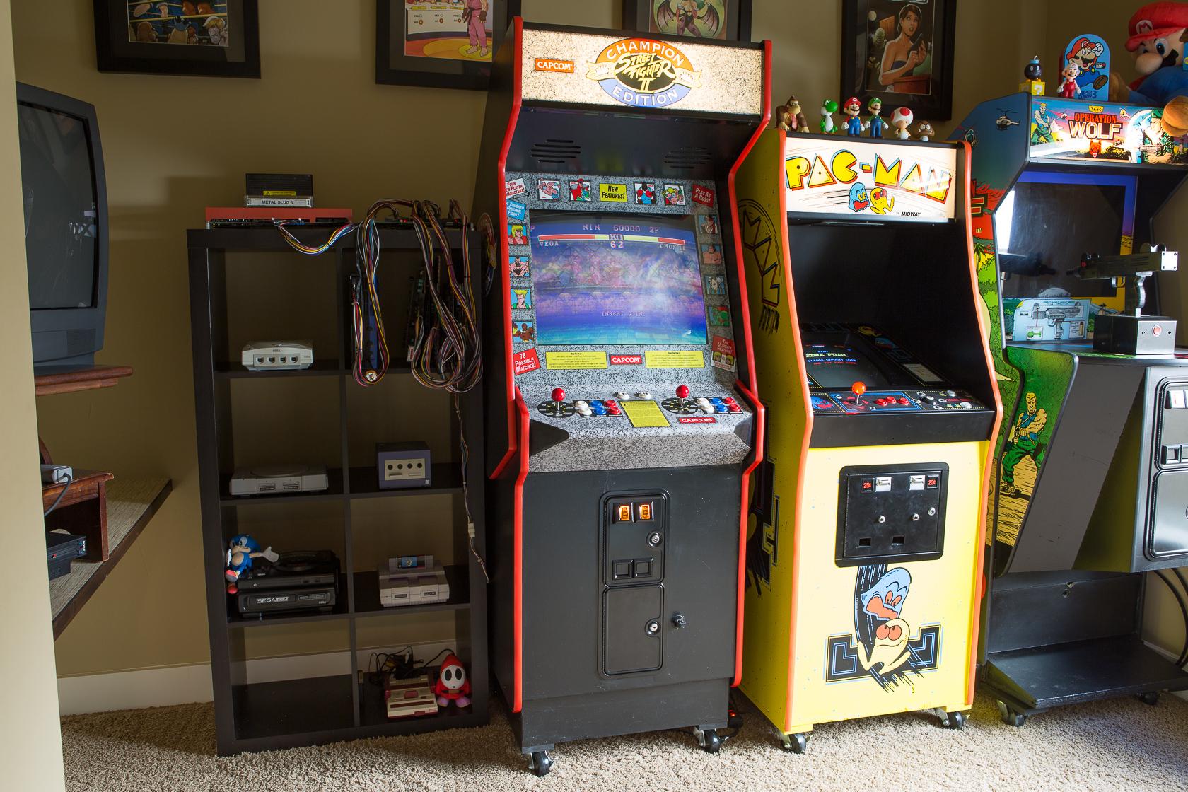My game room in Boise, Idaho.