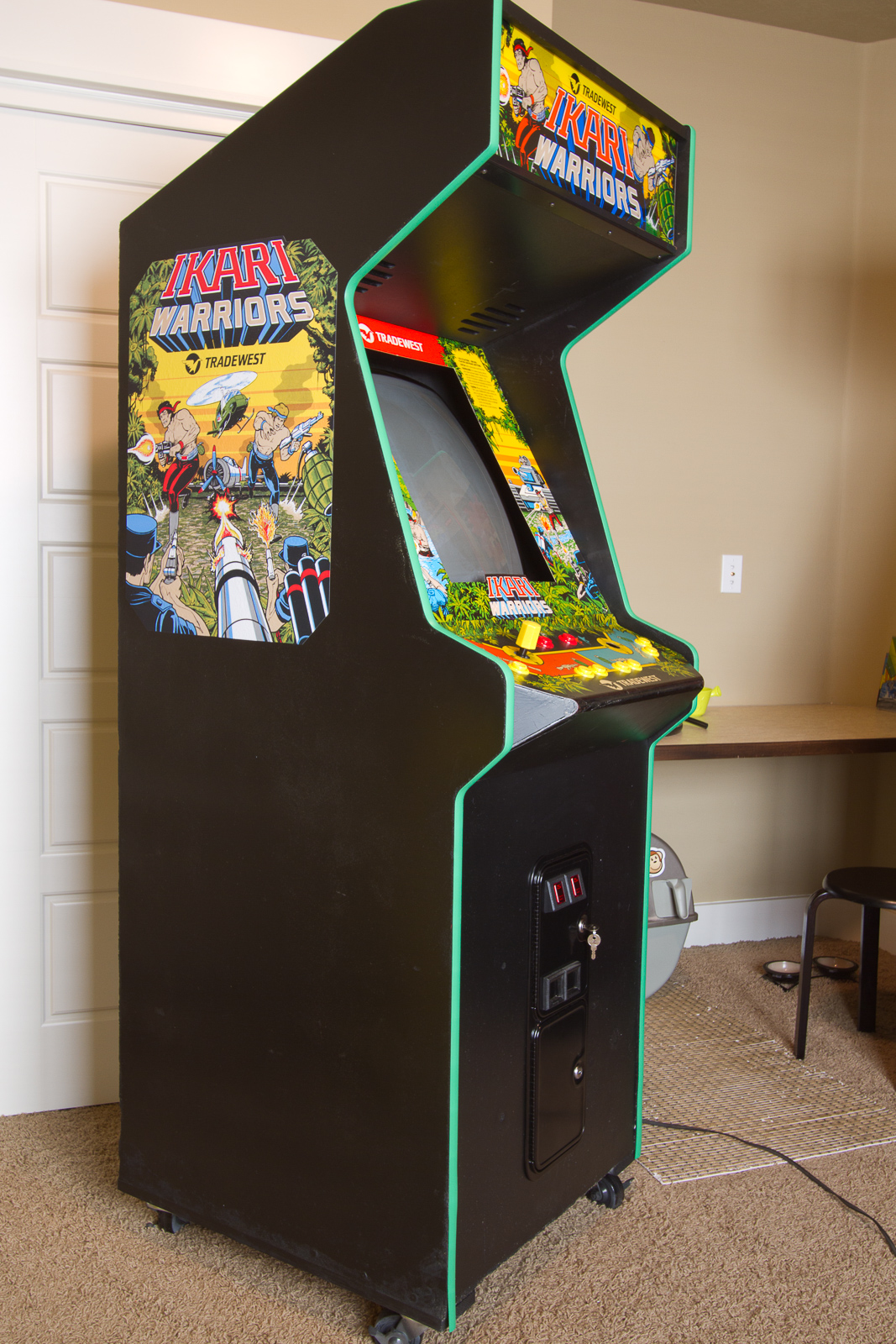 My game room in Boise, Idaho