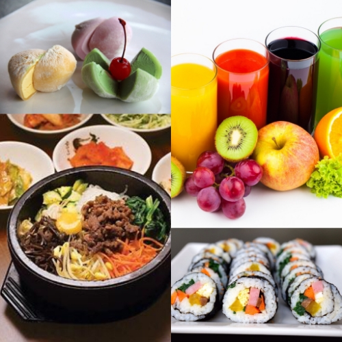 Serving healthy Korean dishes, freshly squeezed juices, and tasty snacks. Gluten free and Vegetarian options available.  Open from 11:30 AM to 8:30 PM  Cafe is independently-owned and operated by Hanna Restaurant