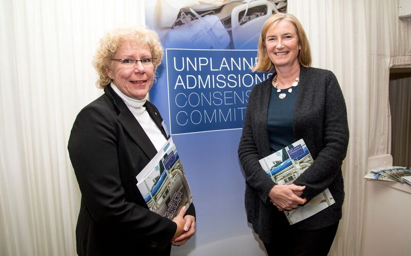 Tracey Cunningham and Sarah Woolaston, Chair of the Health Select Committee and MP for Totness