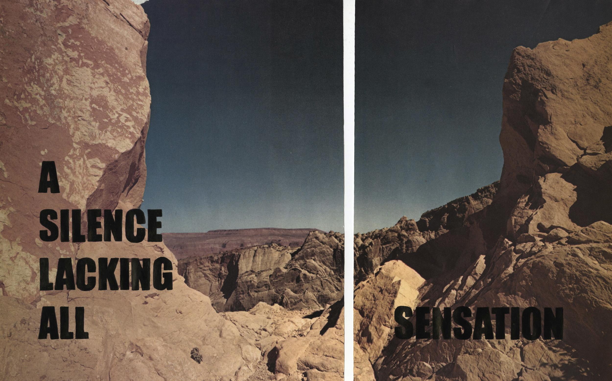 A Silence, 2013.jpg