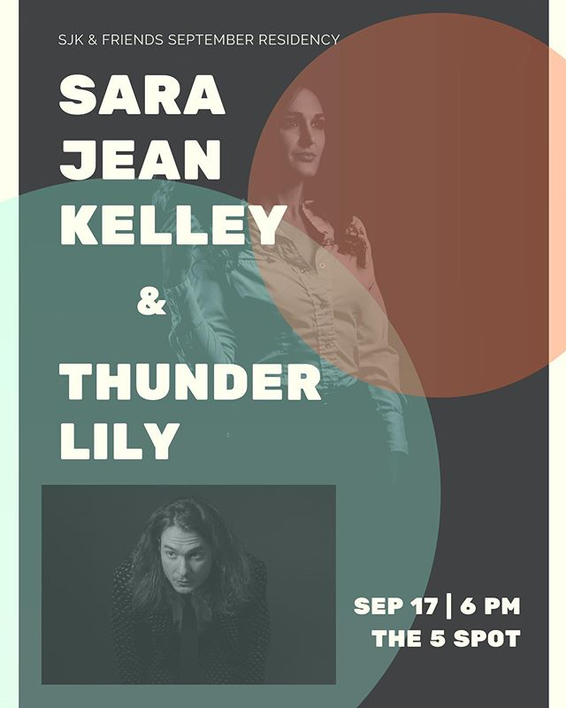 This Tuesday night! The 5 Spot with @thunderlilysound  6pm, $5 . . . #music #the5spot #tuesdaynight #nashville #nashvillelivemusic #livemusic #fullband #newmusic #tuesdaymotivation