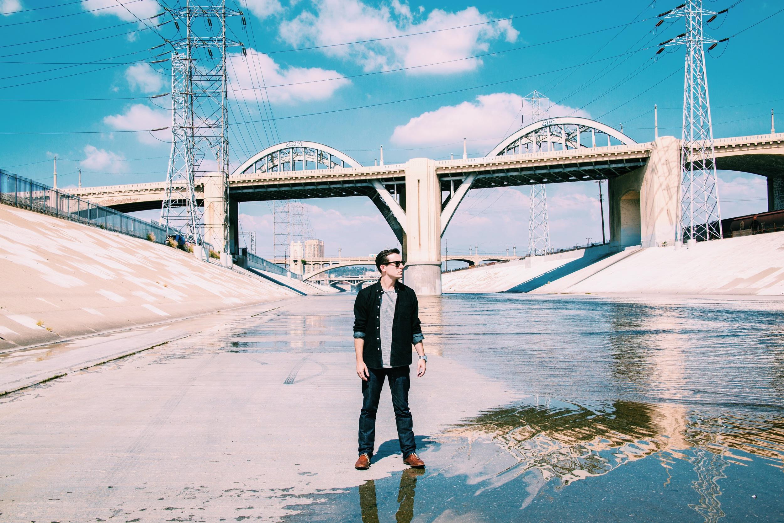 LA RIVER FILMING 2015
