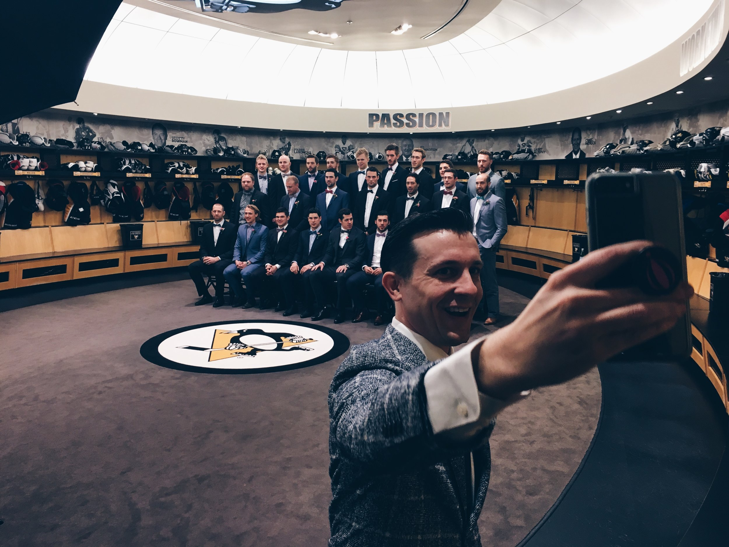 Lee Terbosic & The Pittsburgh Penguins