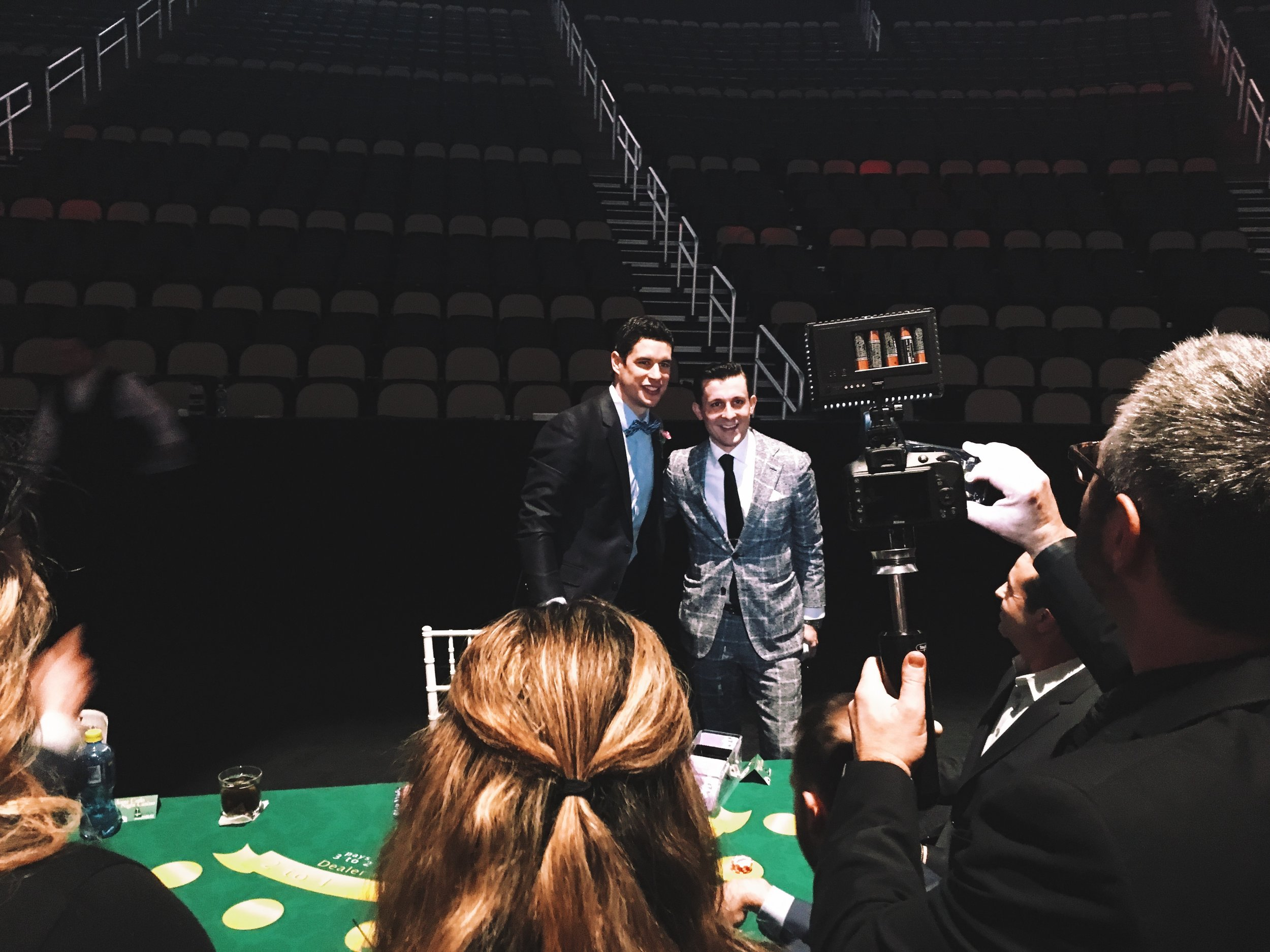 Lee Terbosic & Sidney Crosby