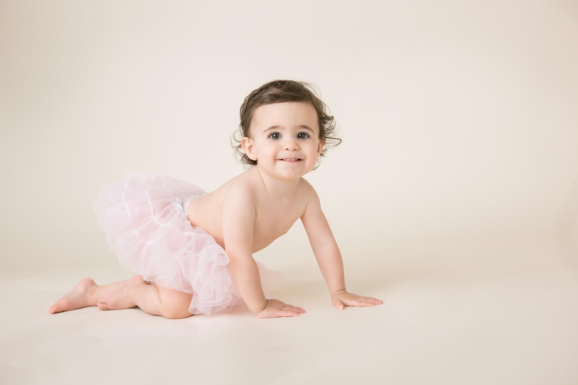one year picture baby girl tutu columbus ohio