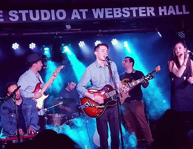 Throwin' it back to the #Carolina release show last year. Can't wait to hit that stage again next Saturday. 4/15. #WereBack #DRandTheDL #websterhall #tbt