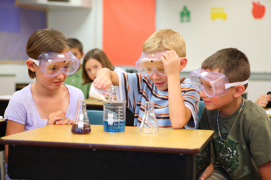 Fifth-Grade science class