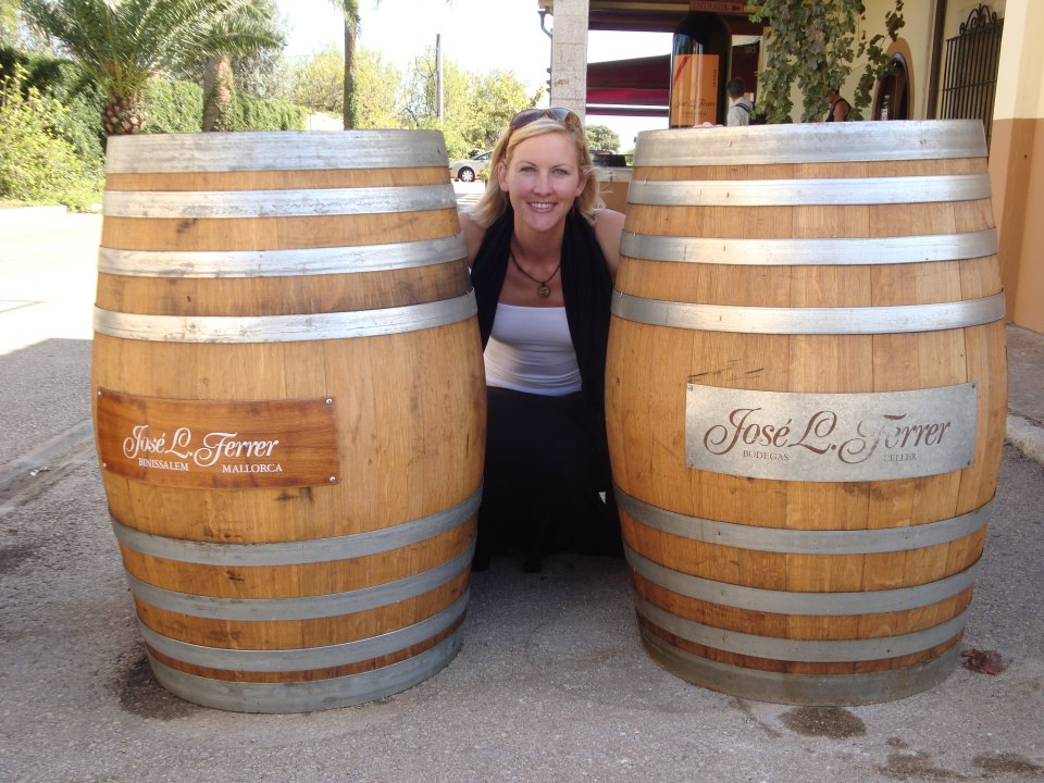 """""""I found that the more I learned about wine, the more I enjoyed [it].""""  - Inga Varney"""