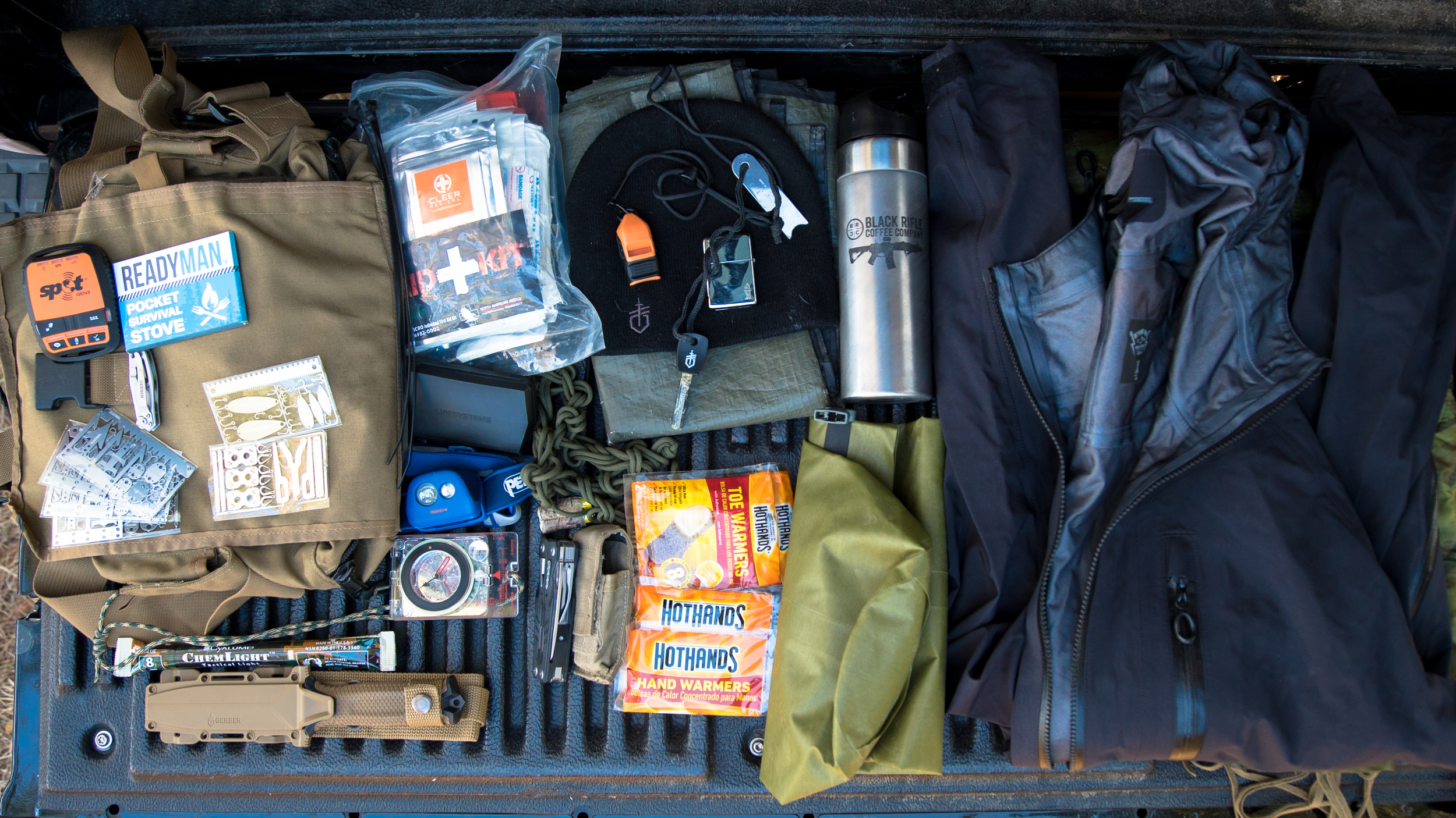 Nick's Cold Weather Bug-Out Bag