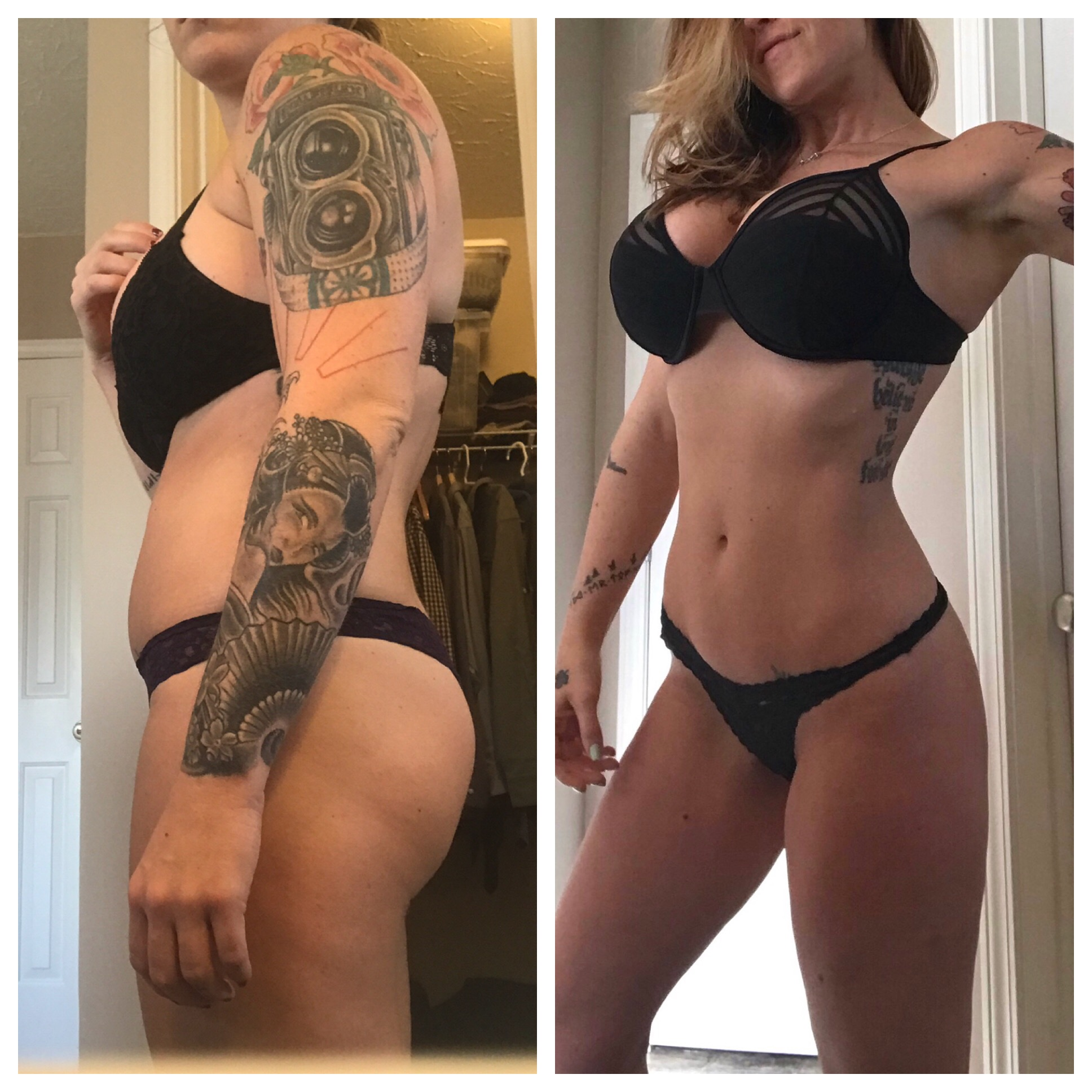 12 Week Progress Photo