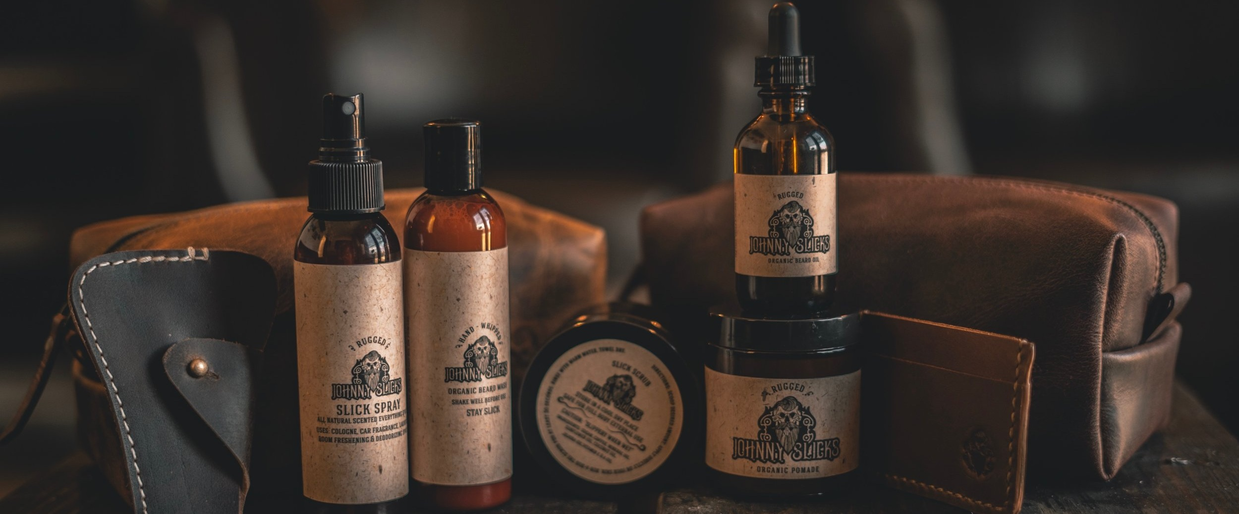 Johnny Slicks - Hand Made Organic Grooming Products