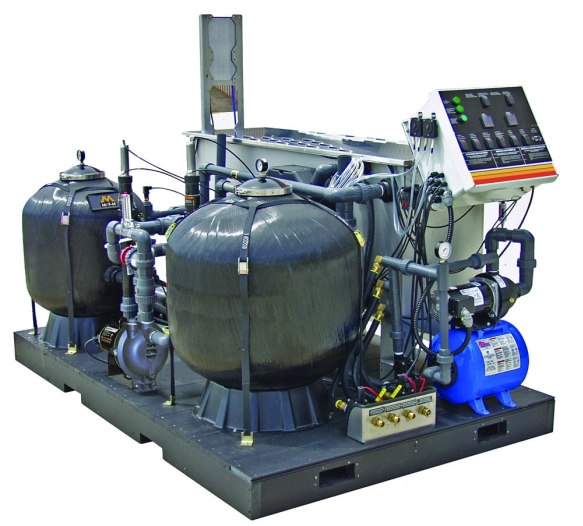 Mi-T-M industrial water treatment system