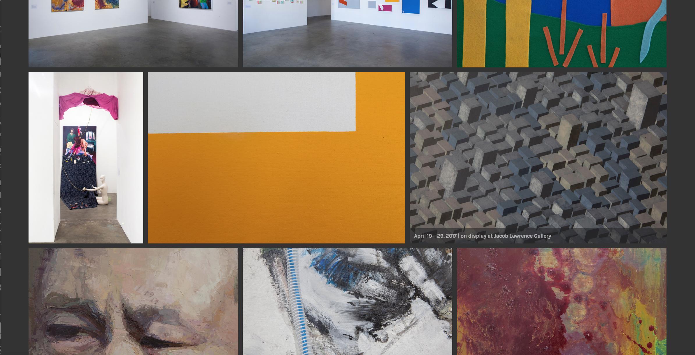 UW School of Art + Art History + Design Photo Website