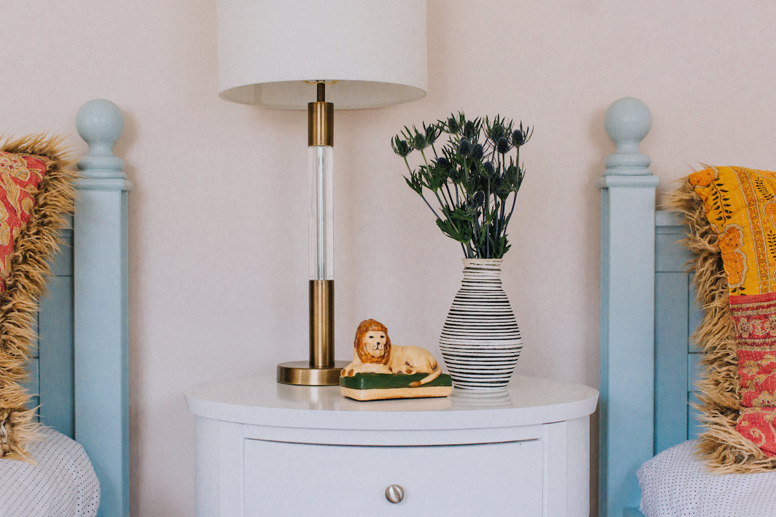 Eclectic Girls Room Detail | CHUSED & CO.