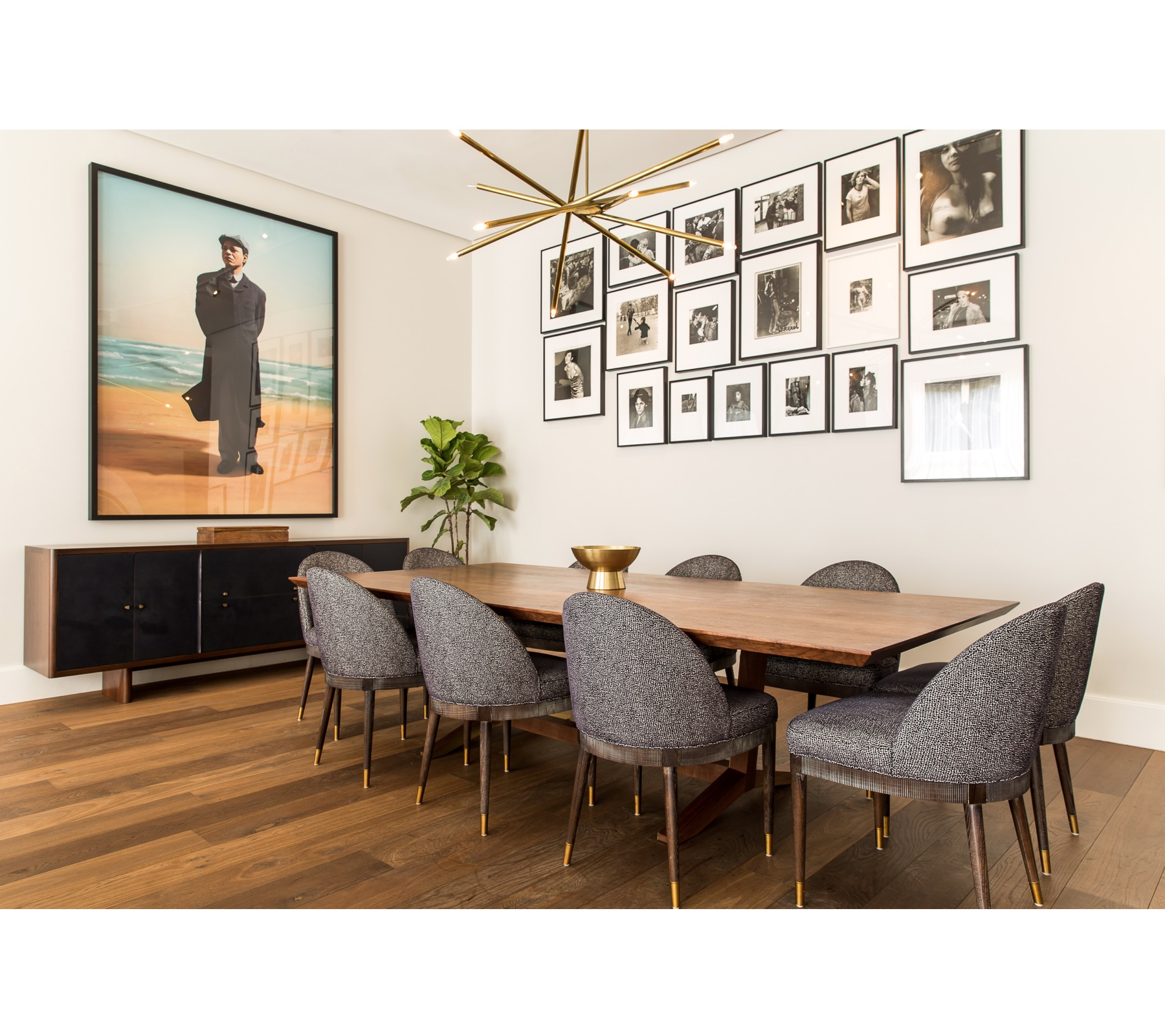 Art Collector's Dining Room | CHUSED & CO.