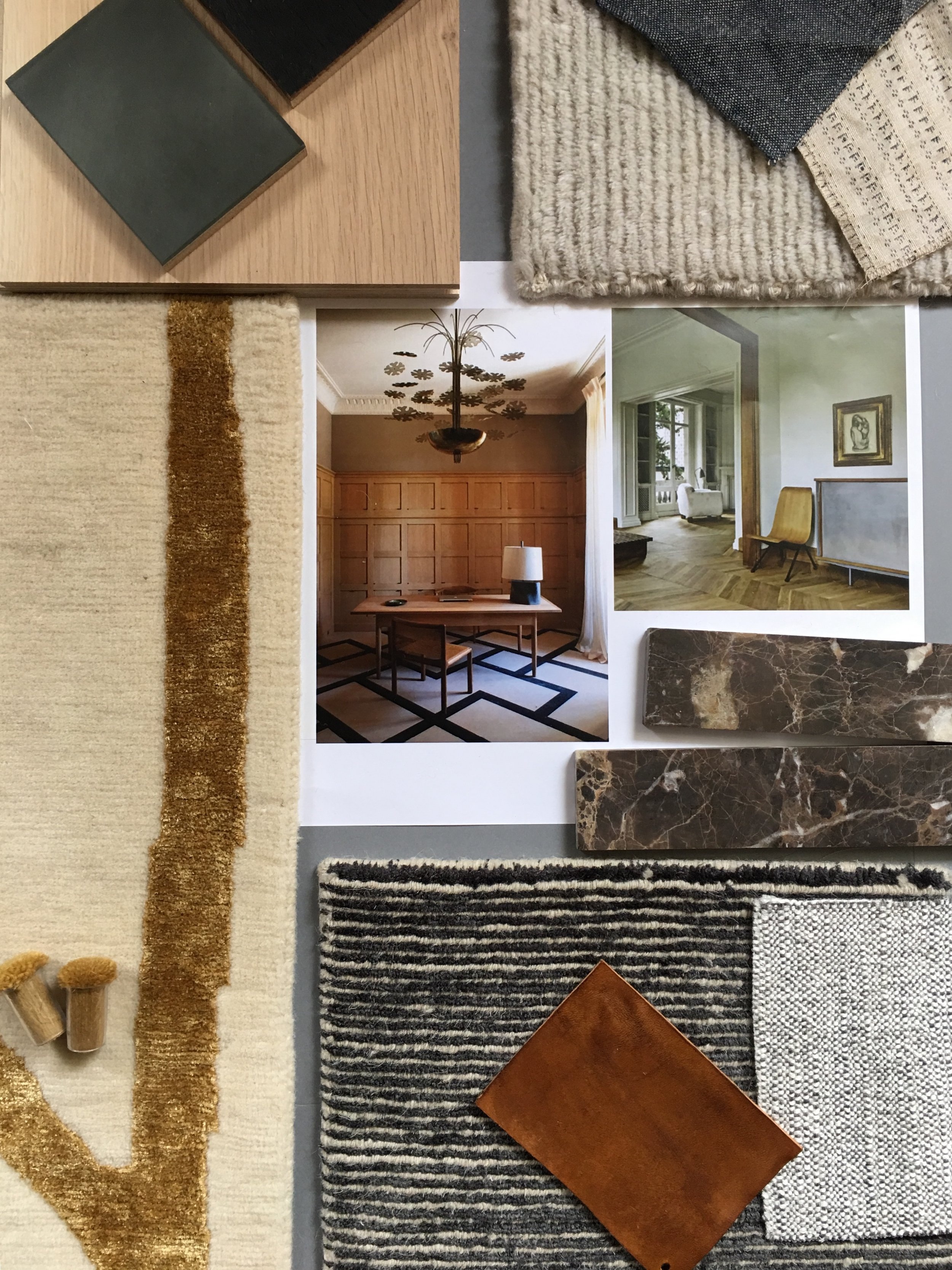 Connecticut Waterfront Mood Board | CHUSED & CO.