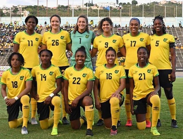 #Funfact: This year Jamaica was the first Caribbean women's team to make it to the FIFA WORLD CUP! So for #WCW we want to make sure to S/O @reggaeGirlz @jff_football . Keep making history! ***....... Are you all watching the FIFA World Cup this year? If so who are you rooting for?.......*** #SolomonAndKuff