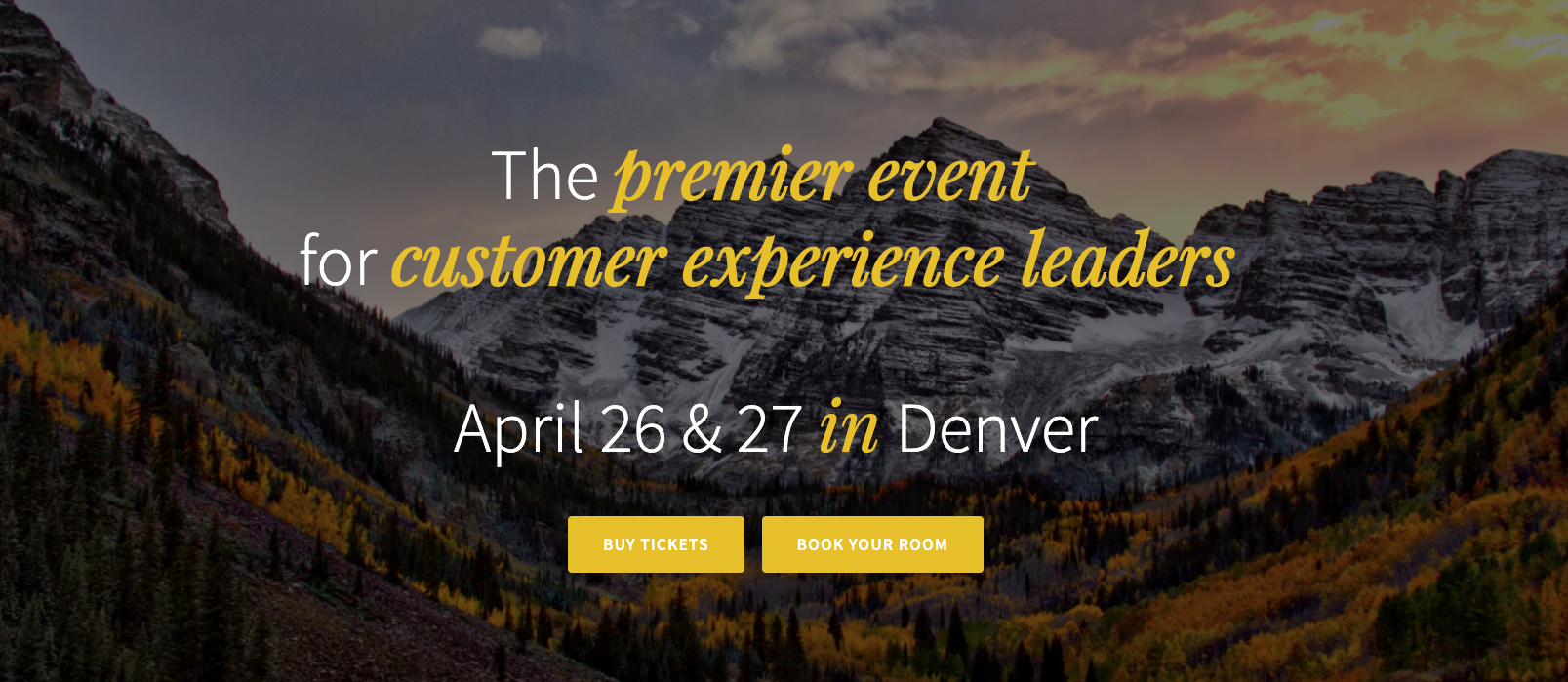 Workshop host at Customer Experience event | Denver, CO