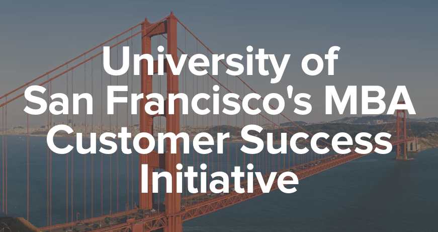 Guest speaker at USF's MBA CAP | San Francisco, CA