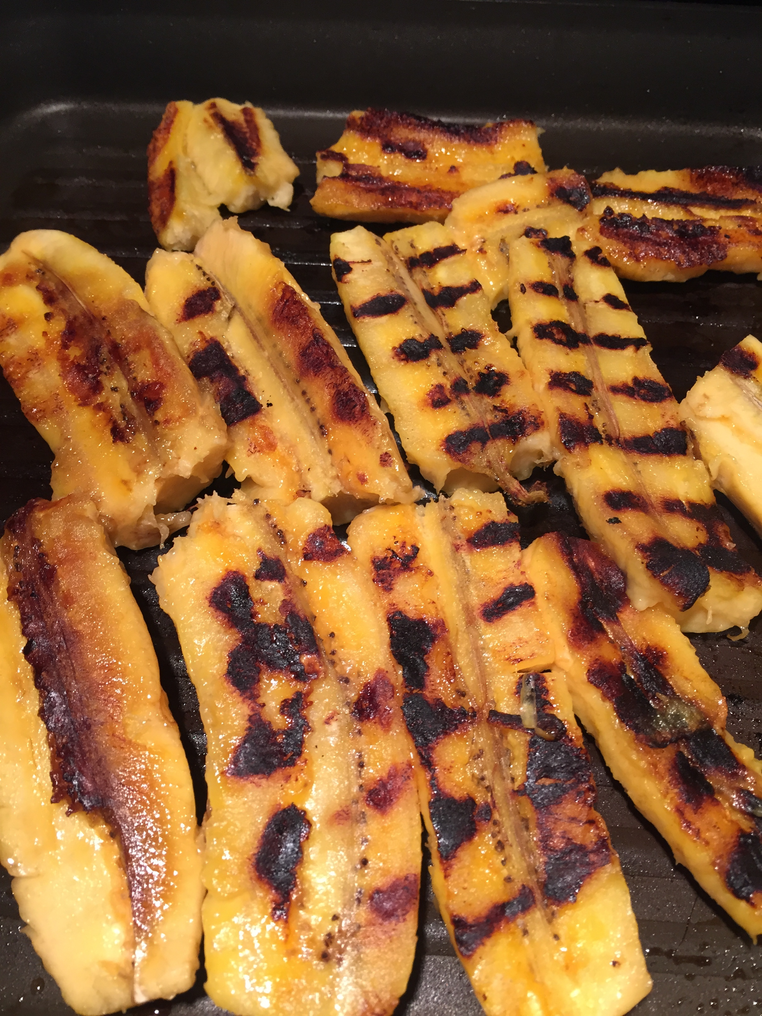 Pan Grilled Plantains
