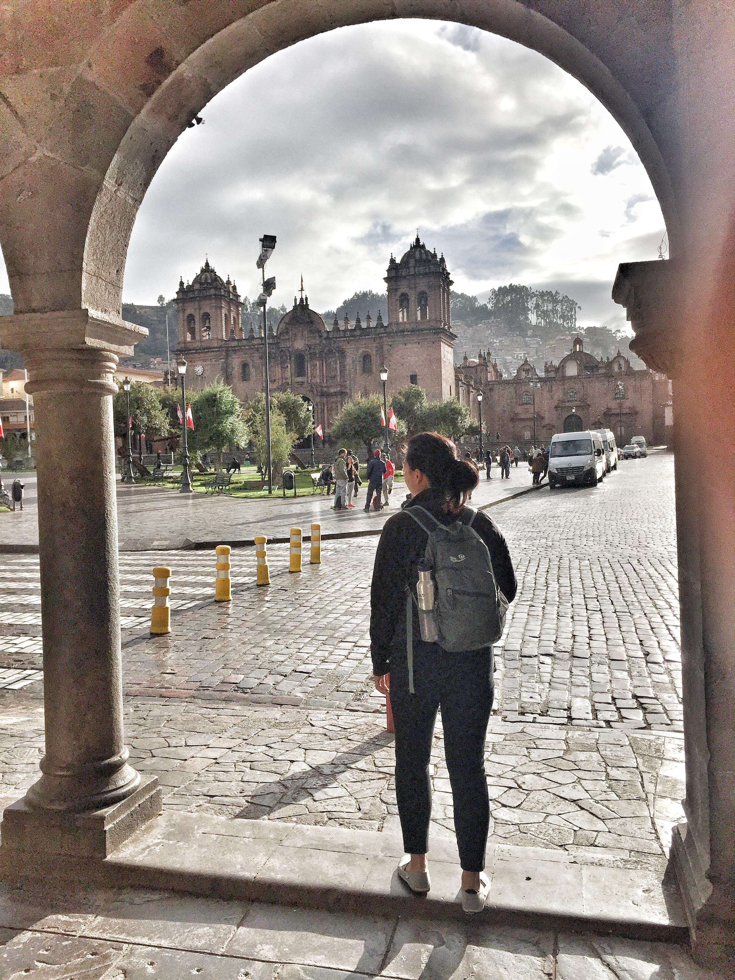 Ready to explore Cusco.
