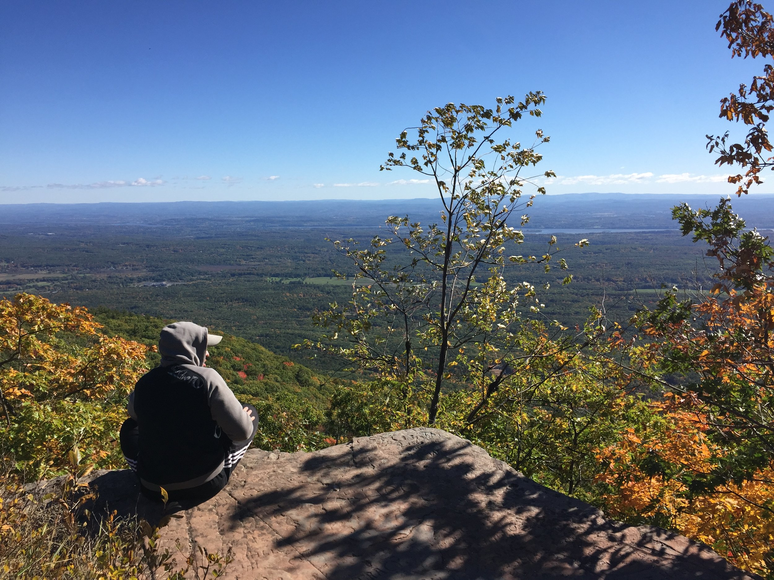 Top of the Catskill Mountain House. On a clear day, you can see across 4 states though not sure how you will know which state is which.