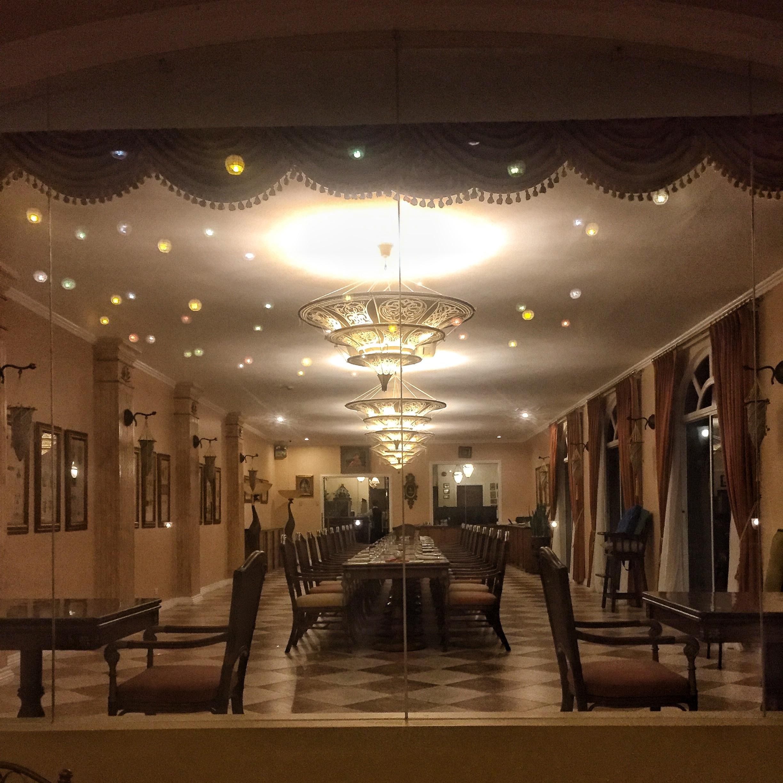 Beautiful restaurant.