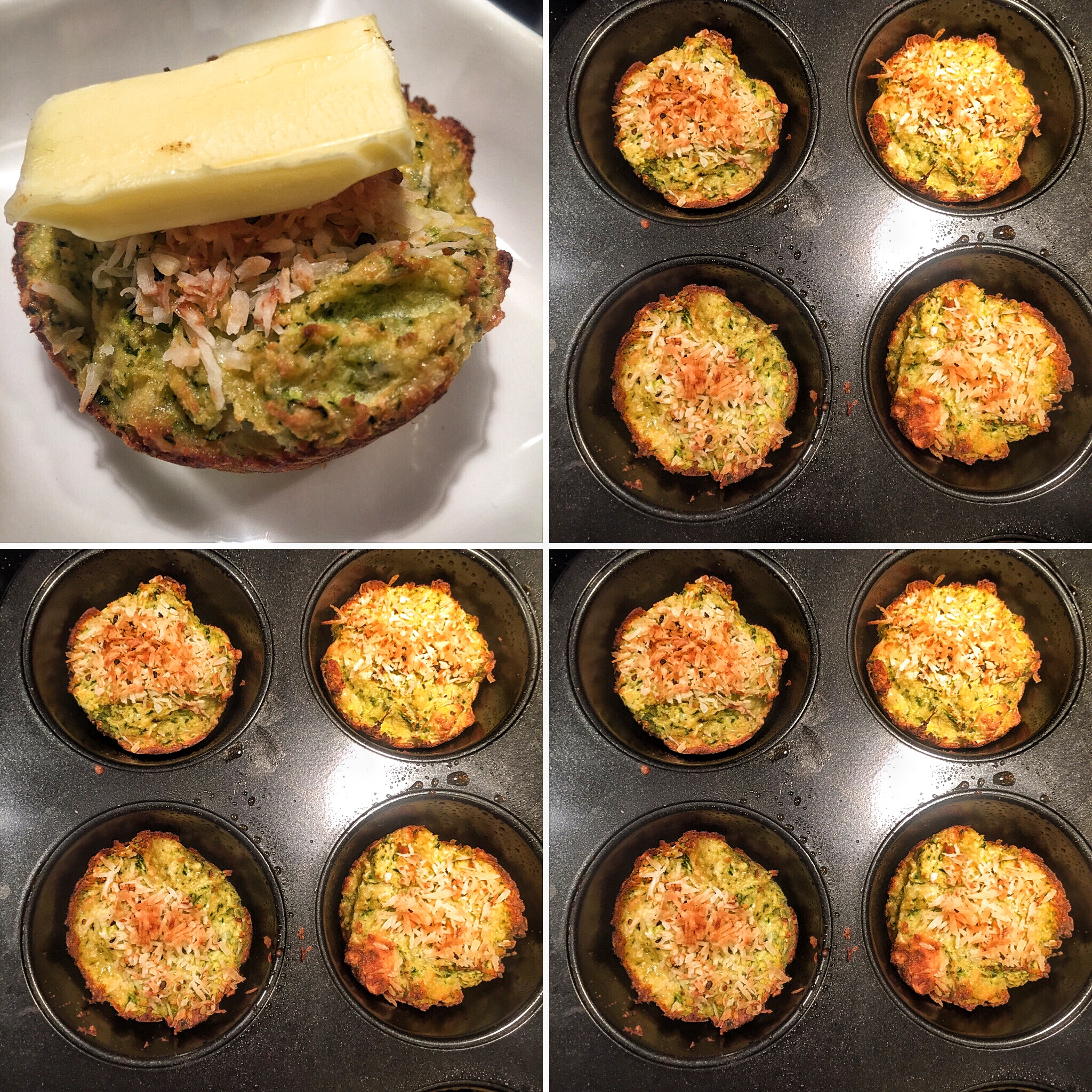 Zucchini muffins are easy to grab and go.