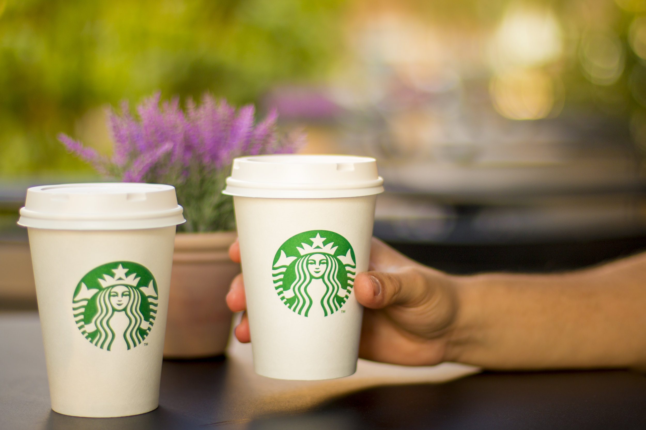 At around $4 a cup, Starbucks coffee and lattes are not only expensive, but the cups are not easily recyclable. It's a lose-lose situation.