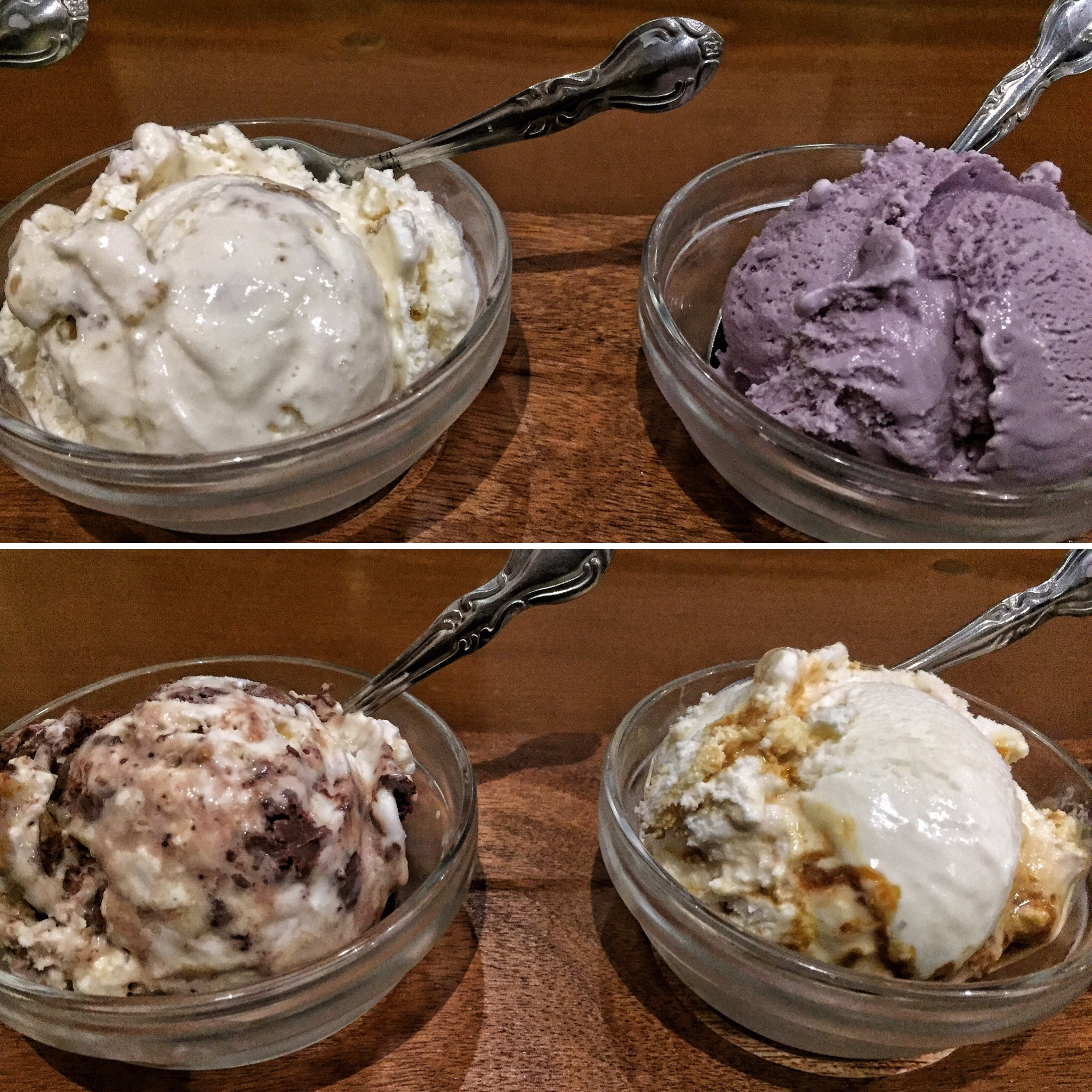 Salt and Straw Ice Cream Flight. Amazing flavors! Tip: get the flight so that you can taste test multiple flavors.