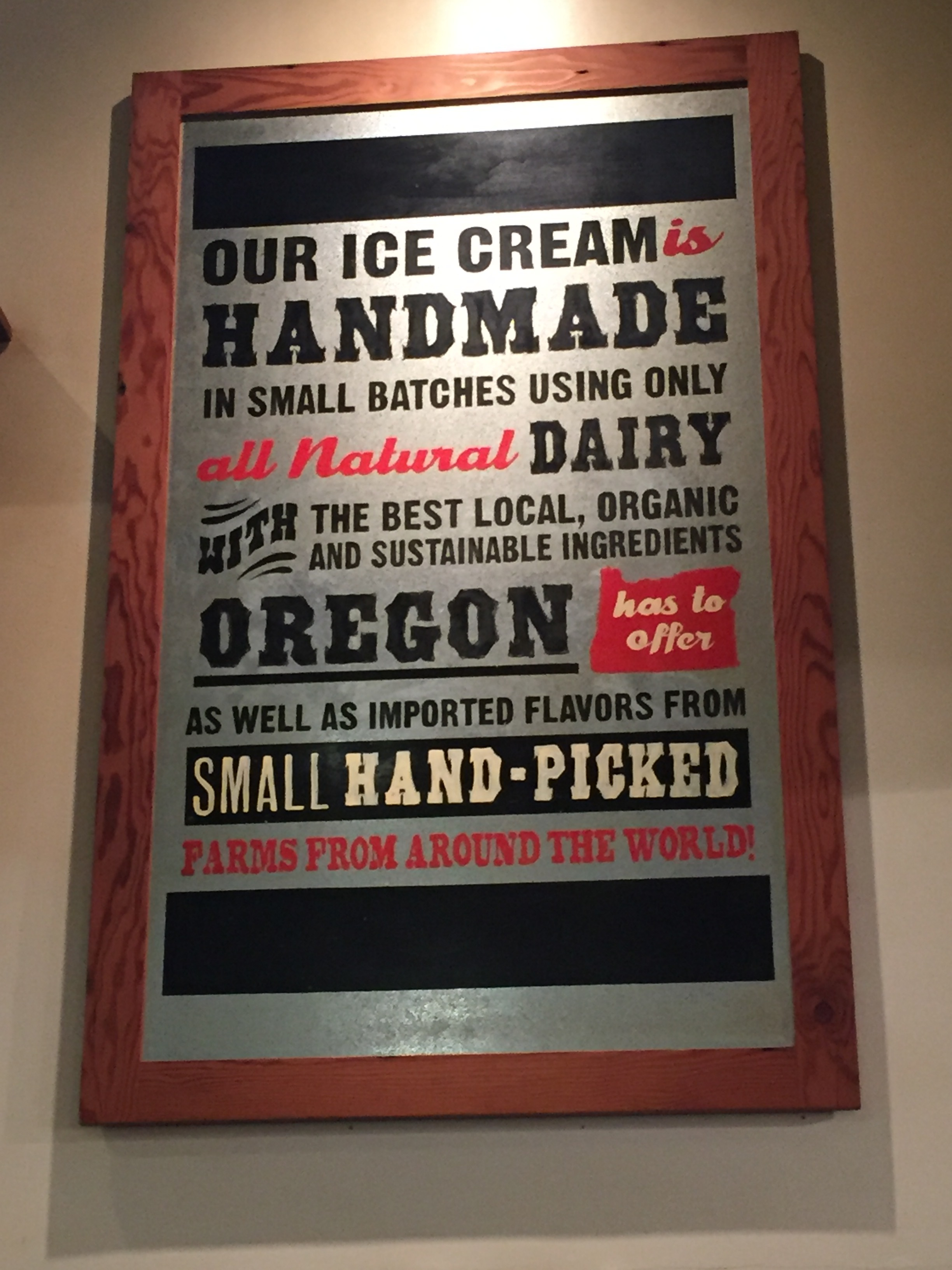 Salt & Straw handmade ice cream.